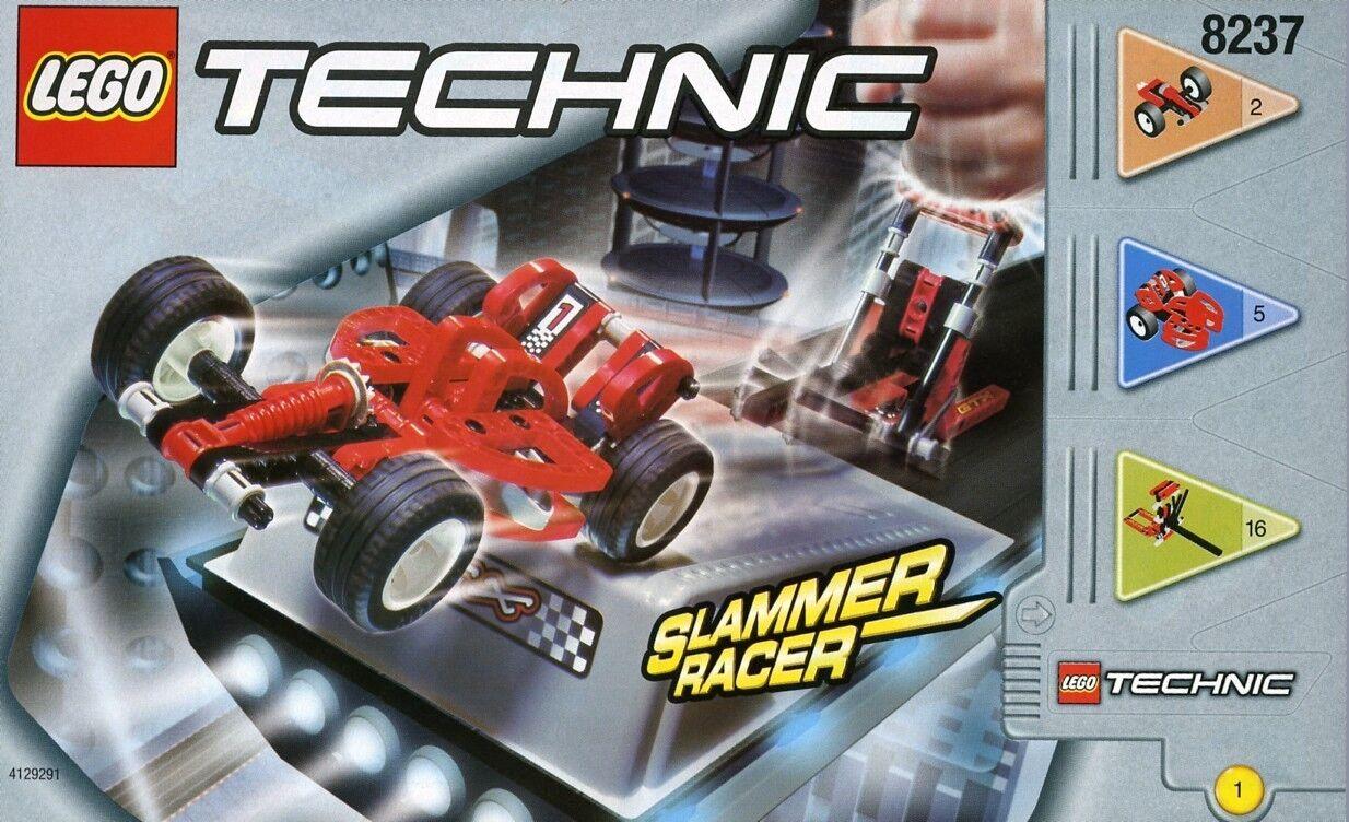 Nuevas Lego Técnica 8237 Fórmula Force