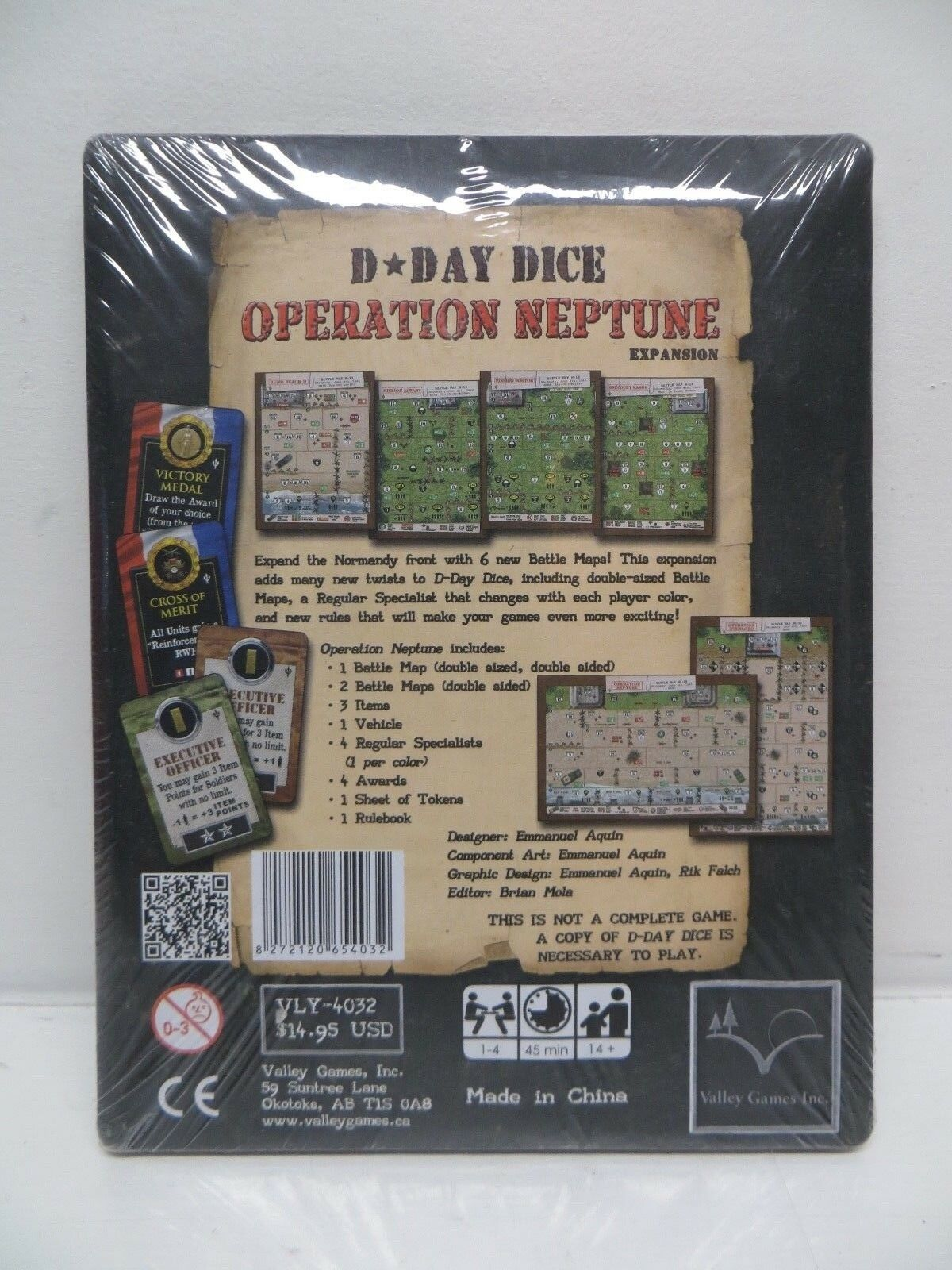 Valley Dicegame D-Day Dice - Operation Operation Operation Neptune Expansion 5b845b