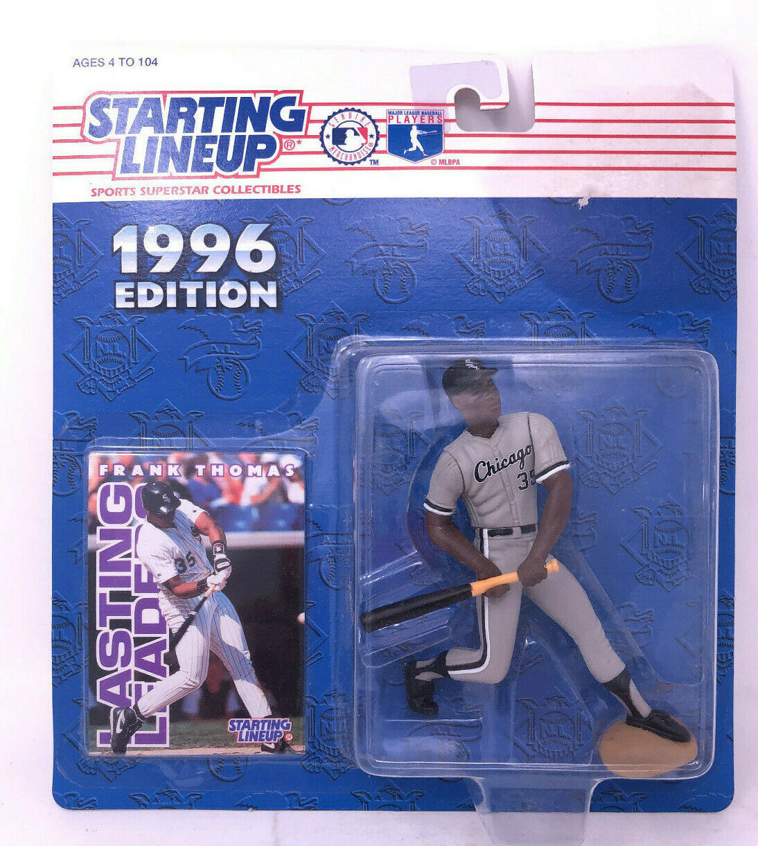 1996 Barry Bonds Figure and Baseball Card Sports Superstar Collectibles Hasbro-Kenner