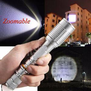 Zoomable-3000-LUMEN-XML-T6-messa-a-fuoco-torcia-LED-Torcia-in-alluminio-Lampada-18650