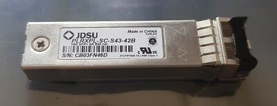 10gbe 10ge 10gbase-sr Ethernet Sfp+ Lc Mmf Sw 850nm Jdsu Plrxpl-sc-s43-42b