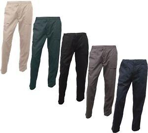 Regatta-hommes-Action-pantalon-Hydrofuge-Genou-correctifs-differentes-couleurs