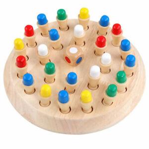Juego-de-ajedrez-de-madera-de-memoria-coincide-con-palo-Ninos-Ninos-Regalo-Educativos-Temprano