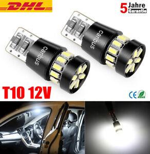 2x T10 SMD 24 LED CANBUS Auto Standlicht Birnen Innenraum
