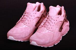 f2b4436754d0 Nike Men Air Huarache Run Premium Rust Pink Red Bronze Sail 704830 ...