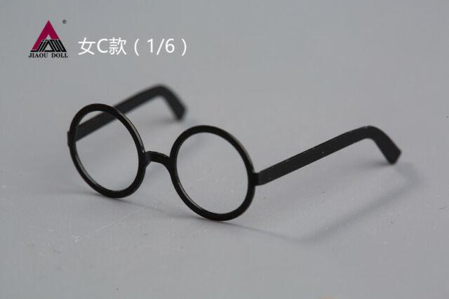 JIAODOLL 1//6th Metallic Trendy Retro Glasses For 12/'/' Soldier Figure Accessories