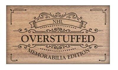 NHL Hobby Box - Overstuffed Memorabilia Edition - 6 Random items per box Hockey