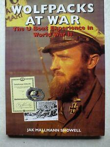 Wolfpacks at War by Jak P. Mallmann Showell
