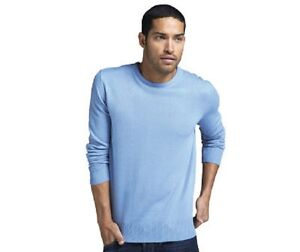 c217b0642d98 Mens light blue crew neck jumper in size small new witth tags   eBay
