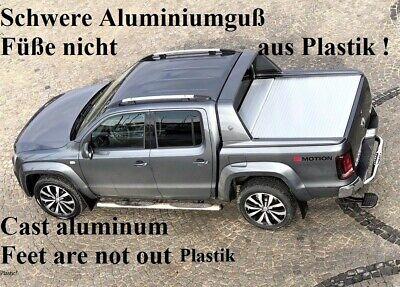 Dachreling passend f/ür VW Amarok ab Baujahr 2010 in Schwarz mit T/ÜV und ABE