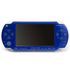 PSP Metallic Blue PSP-1000MB Play Station Portable Sony Game Console