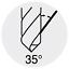 4,9mm HSSE FORUM E//D//E Logistik-Cente Spiralb D338TI gesch