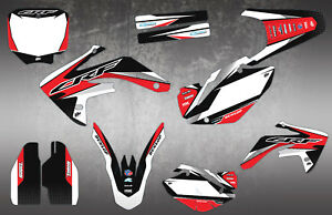 Details about HONDA CRF150 MOTOCROSS GRAPHICS MX GRAPHICS CR 125 250 450  DECAL KIT / STICKERS