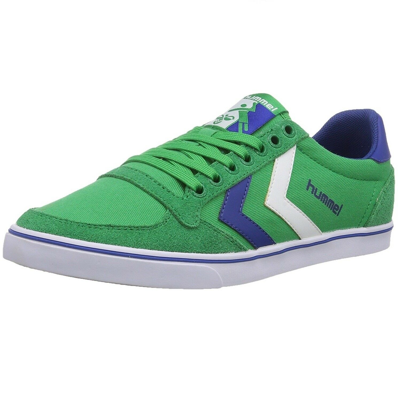 HUMMEL SLIMMER STADIL CANVAS LOW - Zapatillas de lona, unisex color green