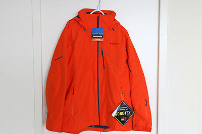 Patagonia Men's Insulated Powder Bowl GORE-TEX Ski Jacket  - Eclectic Orange XL