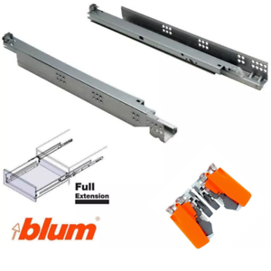 Details About Blum Tandem Drawer Slides Blumotion Soft Close 30kg 560h