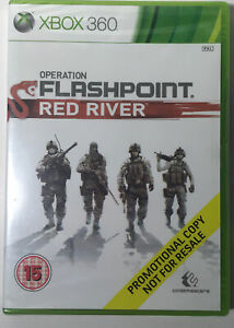 Operation Flashpoint Red River Xbox 360 (Promotional Copy) PAL - Still Sealed!!!