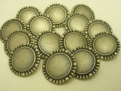 7//8  Jacket Blazer #S23 5//8 11//16 New lots of Silver Metal Buttons sizes 1//2