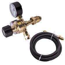 Cga580 Argon Regulator Gauge Flow Meter For Mig Tig Welding Gas Welder With Hose