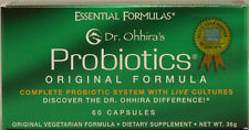 Essential Formula Dr. Ohhira's Probiotics Original Formula 60 Caps FREE SHIPPING