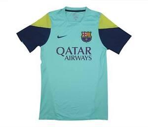 Barcelona 2013-14 Autentico Camicia di formazione (OTTIMO) S Soccer Jersey