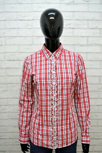 Camicia-TOMMY-HILFIGER-Donna-Taglia-S-M-Maglia-Chemise-Blusa-Shirt-Woman-Cotone