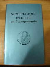 Book / Catalogue : Numismatique d'Édesse en Mésopotamie Ernest Babelon