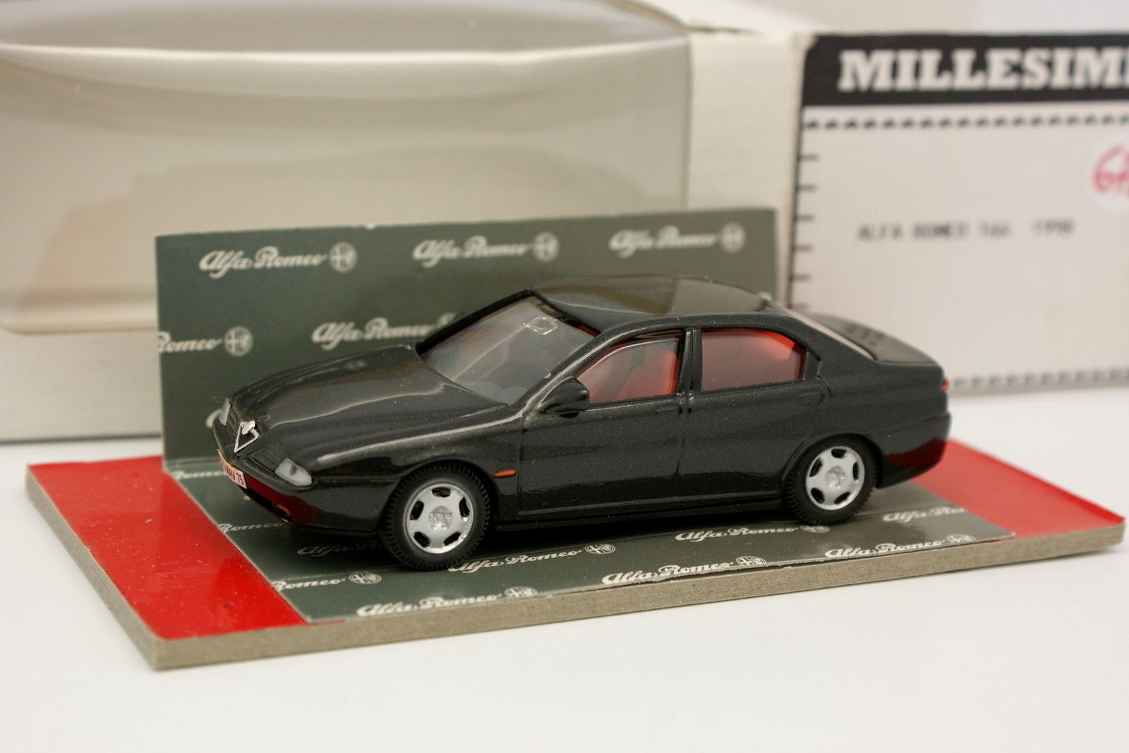 MC Modelli Resina 166 1 43 - Alfa Romeo 166 Resina Nero c82188
