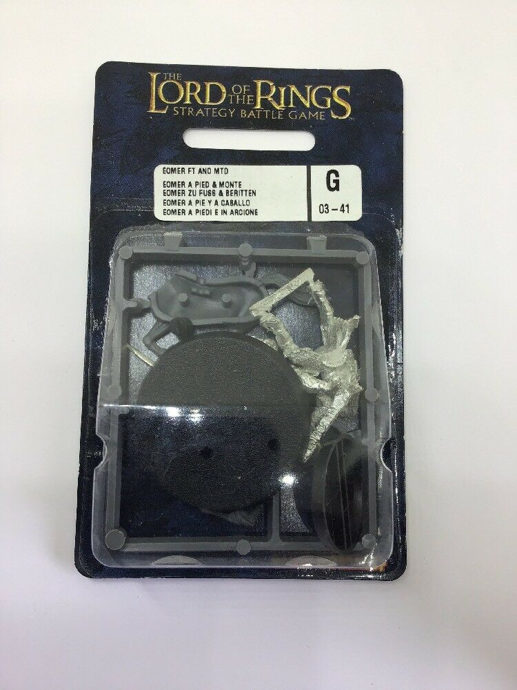 Eomer Foot and Mounted - Warhammer - Lord Of The Rings - BNIB