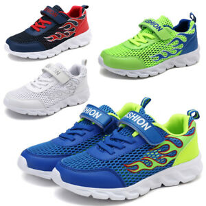 GIRLS BOYS RUNNING TRAINERS NEW KIDS CHILDREN COMFORT SPORTS SCHOOL SHOES UK