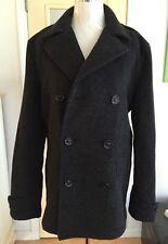 I SPIEWAK & SON DUGAN PEACOAT SIZE L Winter Coat Fashion Jacket Chic