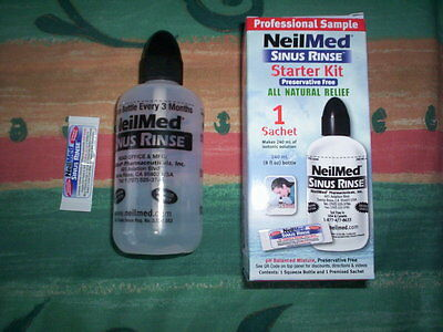Humorous Neil Med Sinus Rinse For Hayfever Suitable For Travel/pregnancy new Reliable Performance Allergies