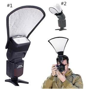 New-Universal-Camera-Flash-Reflector-Card-Diffuser-external-Softbox-Accessories