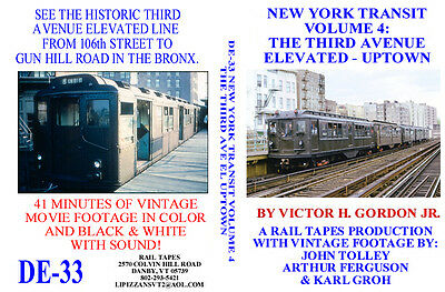 DVD An EL Called Myrtle Brooklyn NY New York NYC Elevated Subway