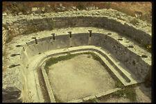 293081 Tunisia Ancient Roman Toilets A4 Photo Print