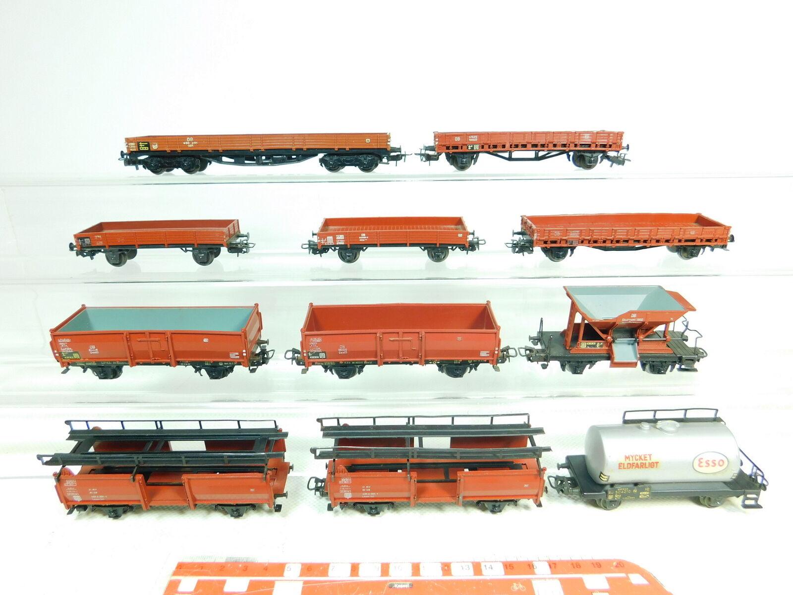 BT657-2 x Märklin H0 Dc Freight Wagon Db   Sj for Hamo, Artisan 2. Choice