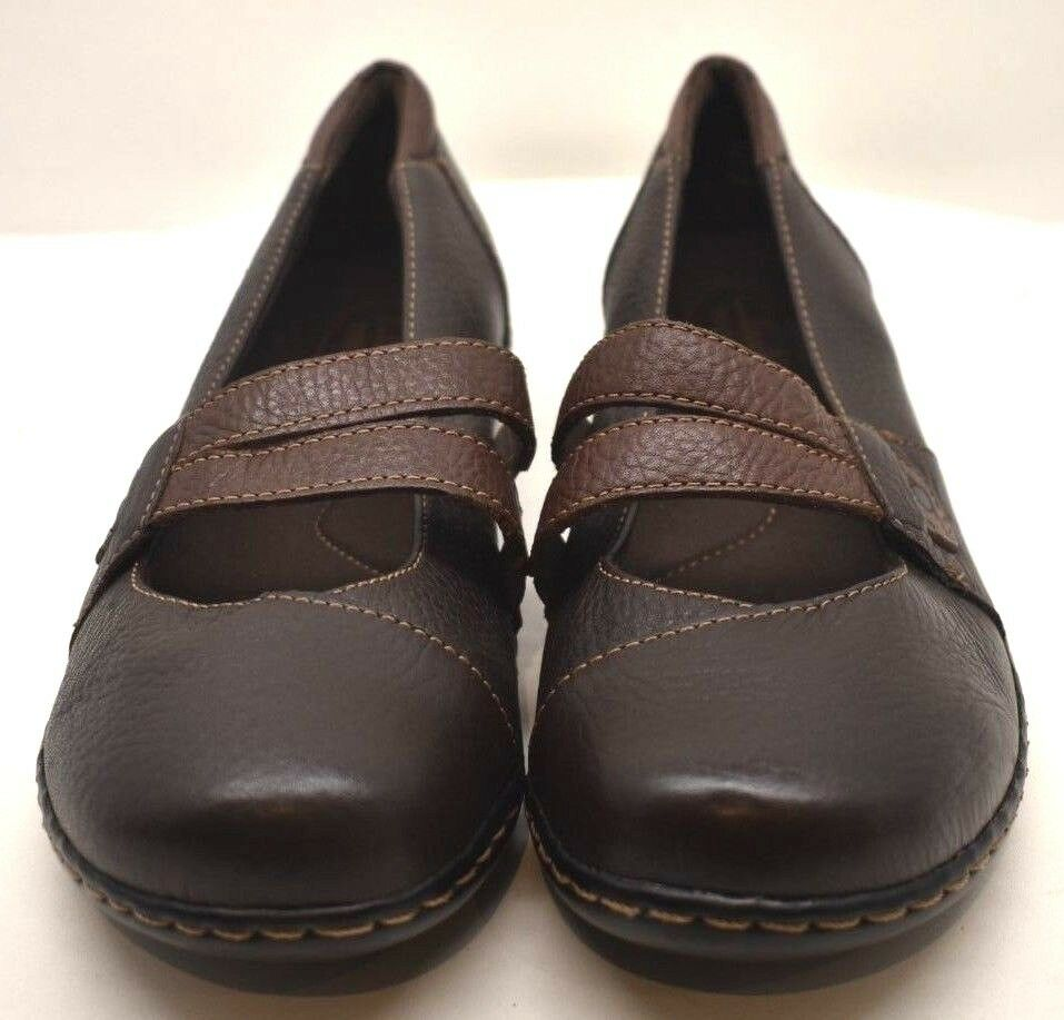 Clarks  Women's Bendable 16724 Leather Brown US SZ 9 - FREE SHIPPING BRAND NEW