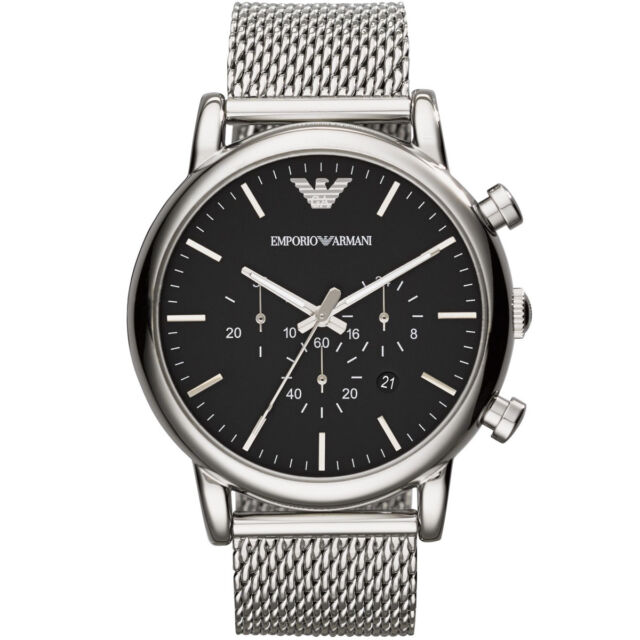 EMPORIO ARMANI Classic Watch Chronograph AR1808