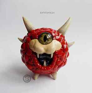 CACODEMON-chibi-cute-Doom-sculpture-handmade