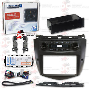 PAC RPK4-HD1101 CAR 2DIN INTEGRATED INSTALL KIT FOR SELECT 2003-07