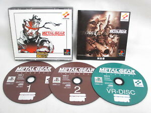 METAL-GEAR-SOLID-INTEGRAL-KONAMI-The-BEST-PS1-Playstation-Japan-Video-Game-p1