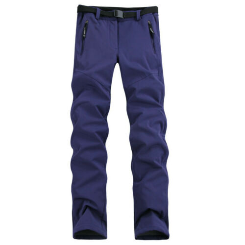 Femmes Imperméable Softshell Polaire Pantalon épaissir Chaud Neige Randonnée Ski Pantalon