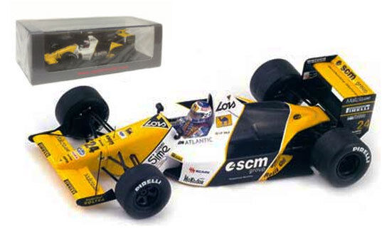 Spark S4111 Minardi M189 6th British GP 1989 - Luis Perez-Sala 1 43 Scale