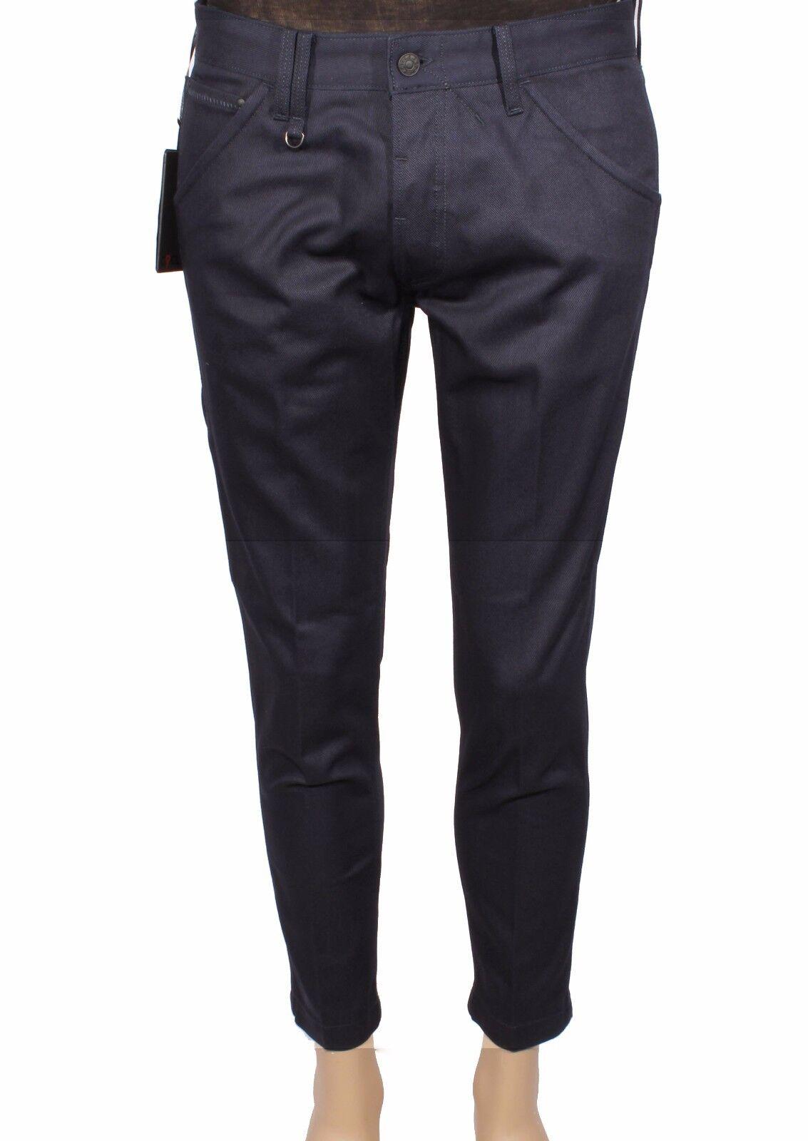 Pantalones de hombre CYCLE MPT170 WK B150 0880 blue Real Tgold