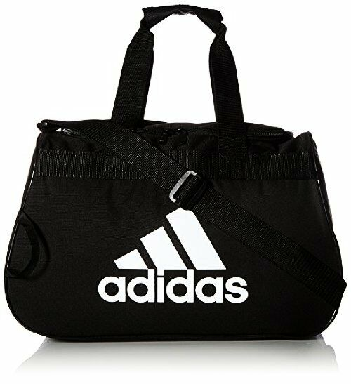 adidas Women s Diablo Duffle Small One Size Black 273608 for sale online  95db0612aee8e