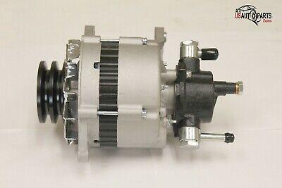 New Alternator For Isuzu NPR 3.9 3.9L Turbo Diesel w//Vac Pump