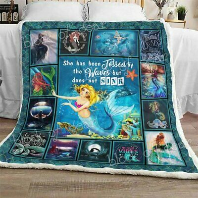 Witch Sofa Fleece Blanket 50x60x80 Made In US