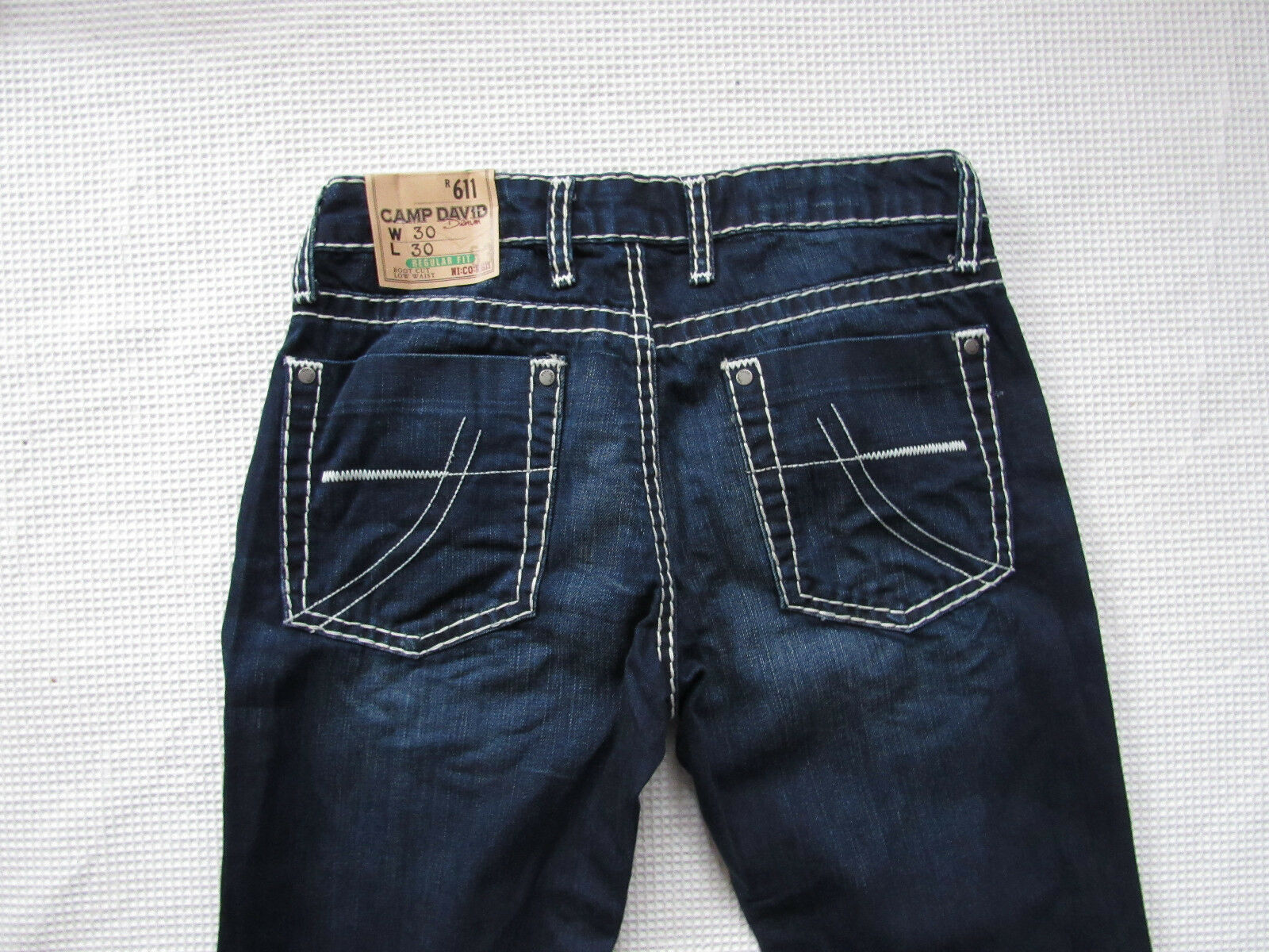 100% Camp David Herren Jeans Denim CD H W Blau used W31 L32
