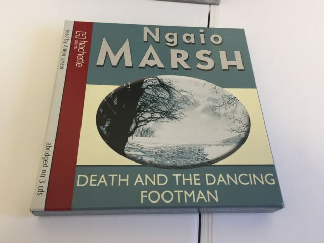 Death and the Dancing Footman by Ngaio Marsh (CD-Audio, 2010) MINT CD SET