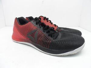 6f8366fdf9f Reebok Men s Crossfit Nano 7 Weave Cross Training Shoe Black Red ...